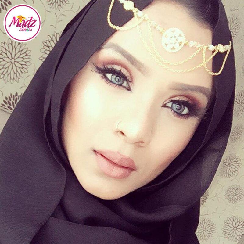 Madz Fashionz USA: Shahara Bespoke Crystal Headpiece Matha Patti