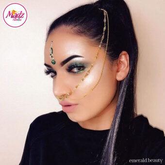 Madz Fashionz USA: Emeraldxbeauty Crystal Bridal Indian Nath Nose Ring Bollywood Indian