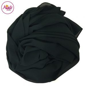 Madz Fashionz USA: Long Maxi Plain Chiffon Forest Green Muslim Hijabs Scarves Shawls