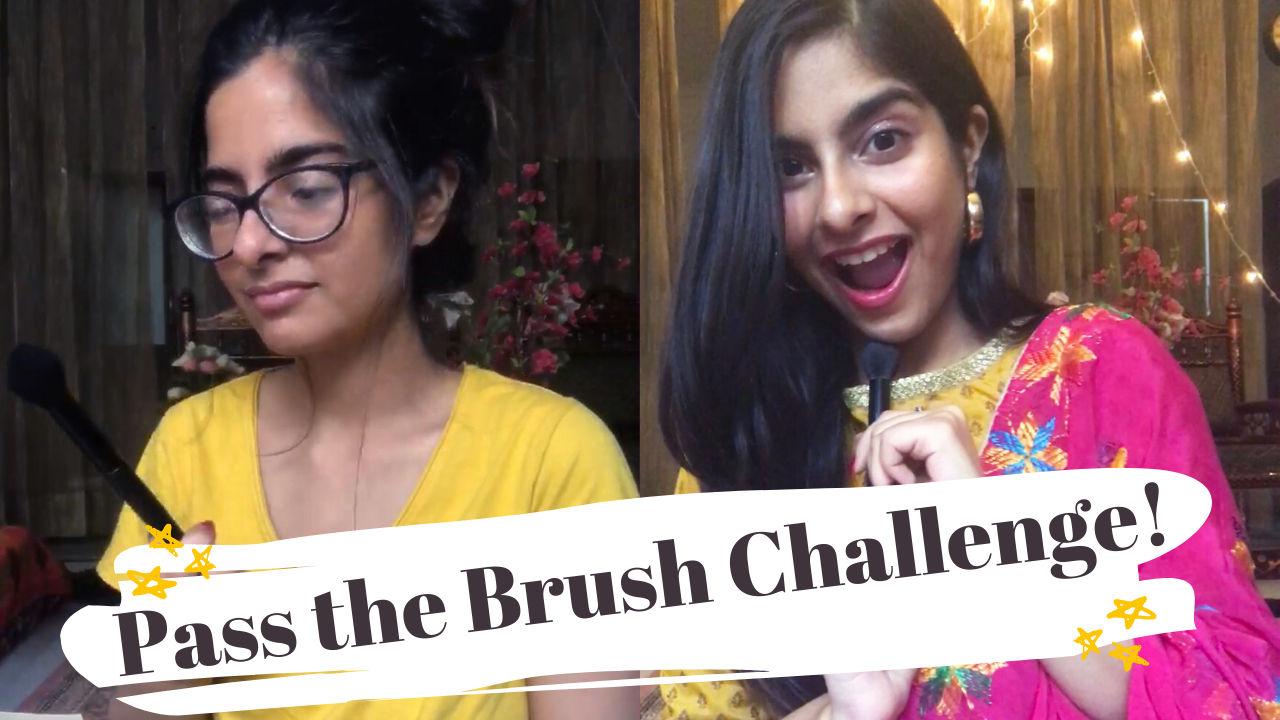 Pass the Brush Challenge