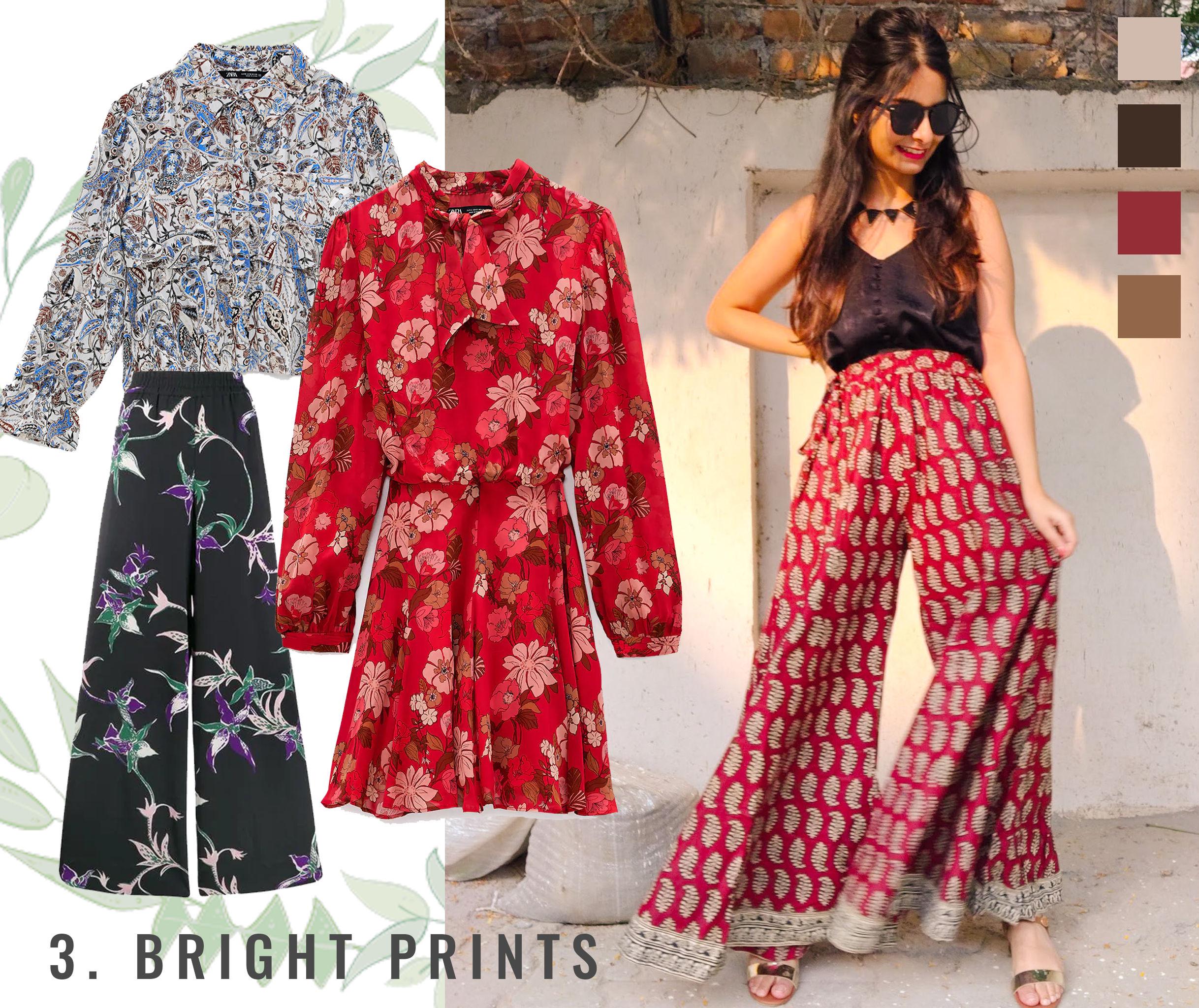 Bohemian Style Moodboard: Bright Prints