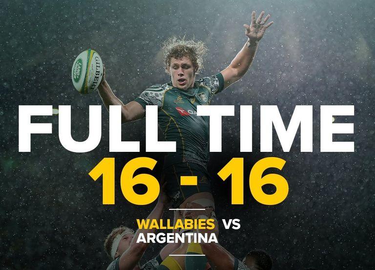 Australija 16-16 Argentina: Tri Nacije 2020