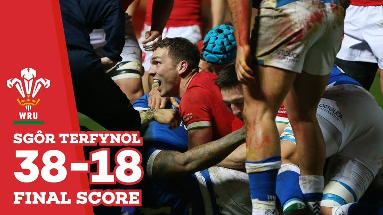 Wales 38-18 Italija: Autumn Nations Cup 2020