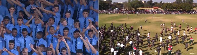 Ovo je Južnoafrička škola ragbija!
