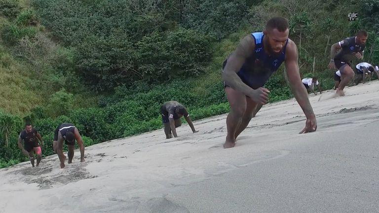 Trening Fidžija u Nacionalnom parku Pješčane dine Sigatoka