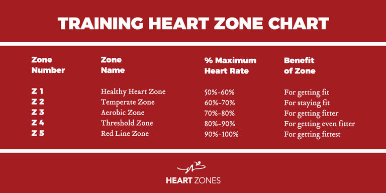 Pet zona treninga