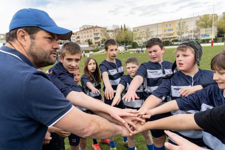 Prvi turnir mini ragbija