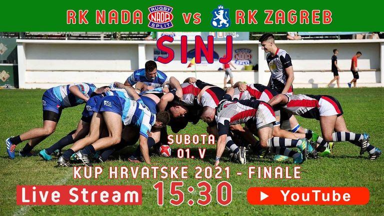 RK Nada - RK Zagreb: Kup Hrvatske 2021. finale - Live Stream