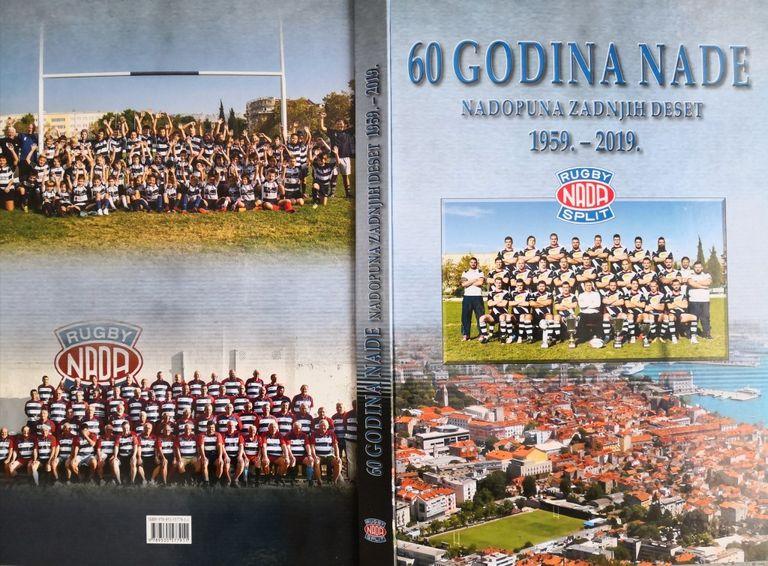 """Ragbi klub Nada izdaje Monografiju """"60 godina Nade"""""""