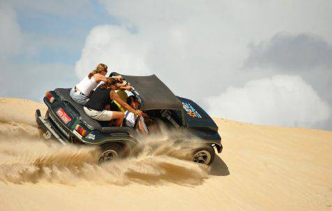 Buggy nas dunas Genipabu
