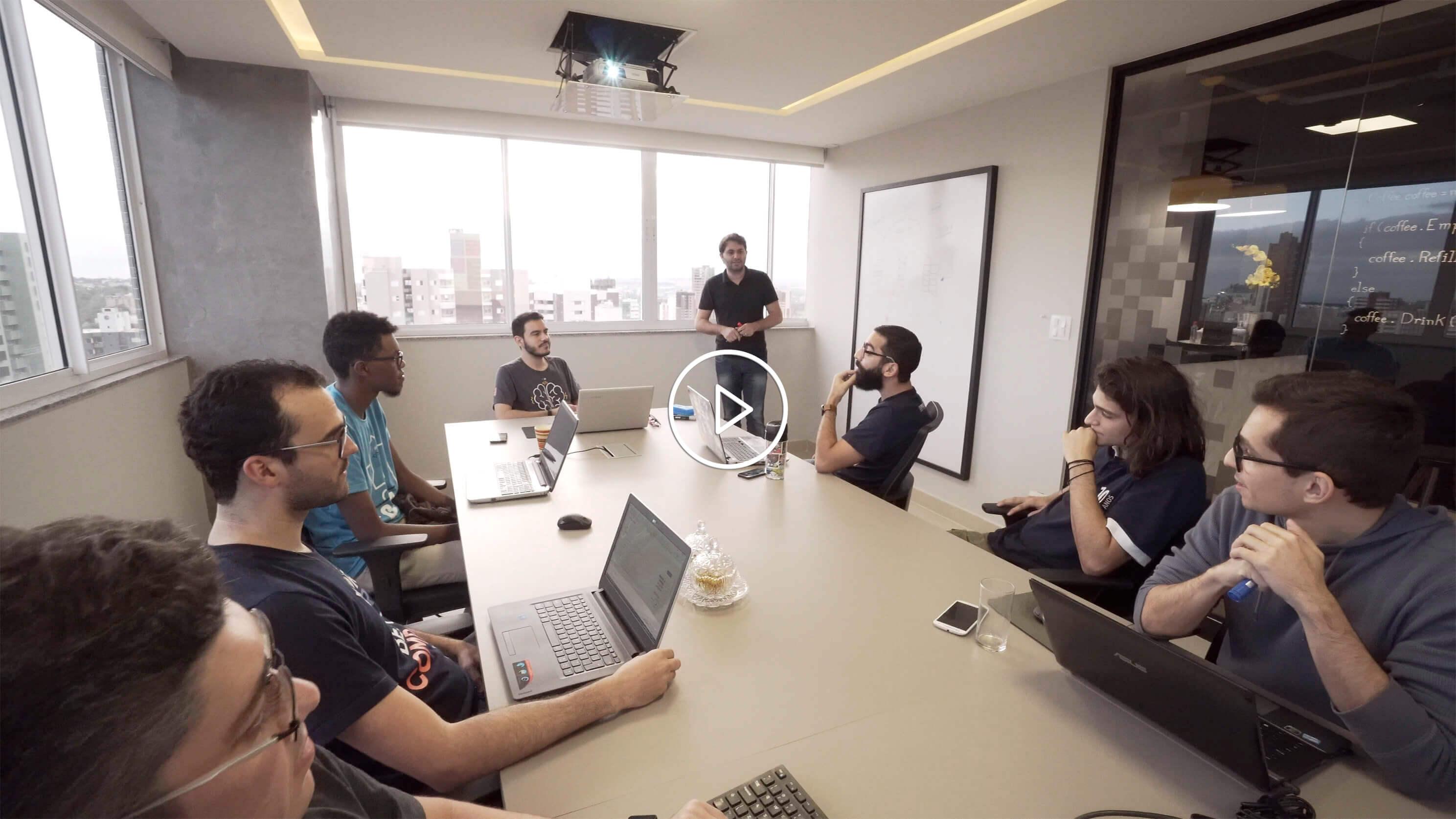 Vídeo A Casa do Desenvolvedor. Clique para assistir.