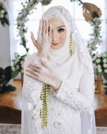 Riasan Pengantin Hijab Untuk Tampilan Cantik Nan Elegan