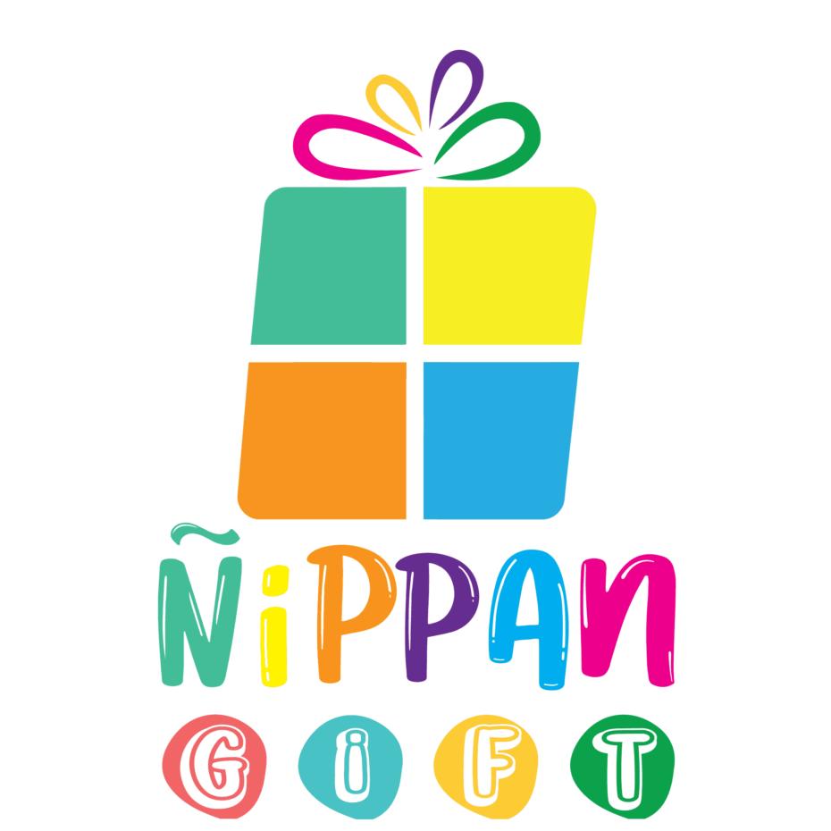 NippanGift.com Logo (แนวตั้ง รวม no border)