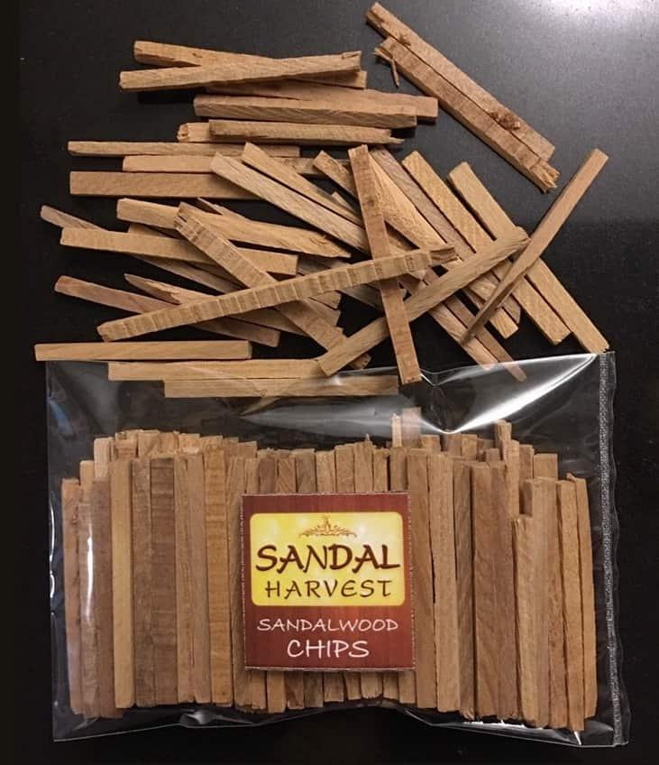 ไม้จันทน์ (Sandalwood Chips)