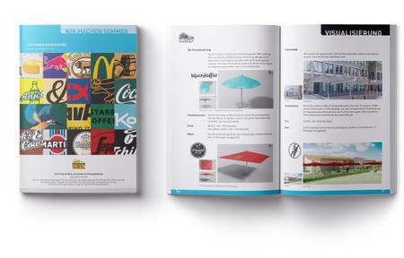 MockUp eines Katalogs