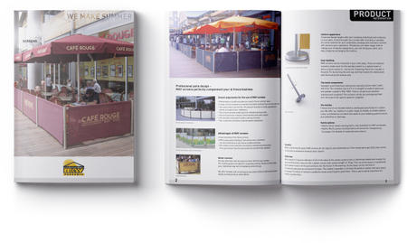MockUp from a brochure