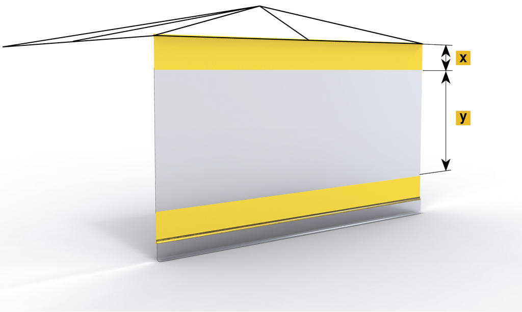 A303 Side sheet with continuous light belt