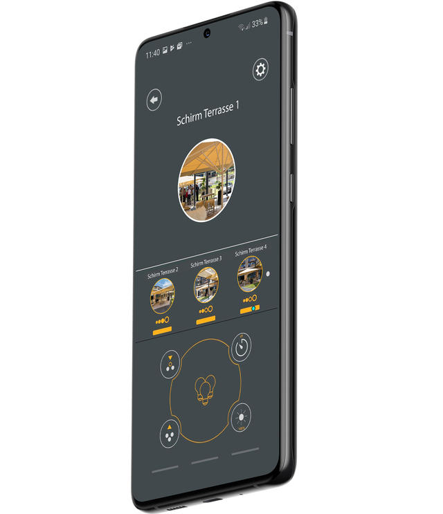 App for Bluetooth remote dimmer