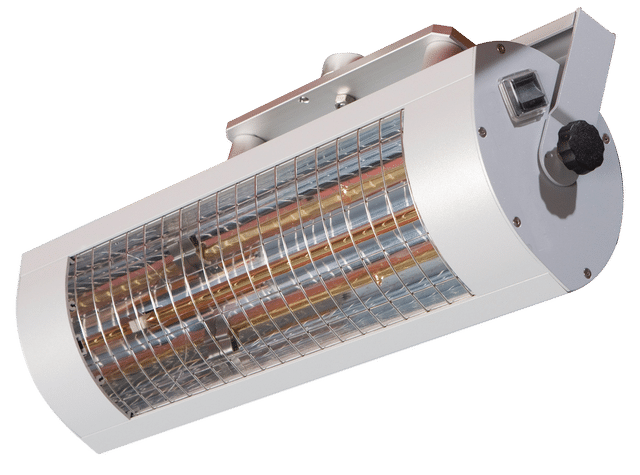 Infrared heaters 1,400 W Low Glare
