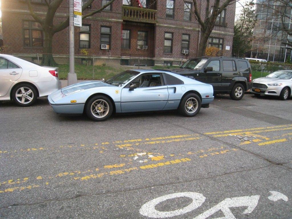 1987 Ferrari 328 GTB Ferrari Azzurro Blue Paint on Pontiac Fiero GT