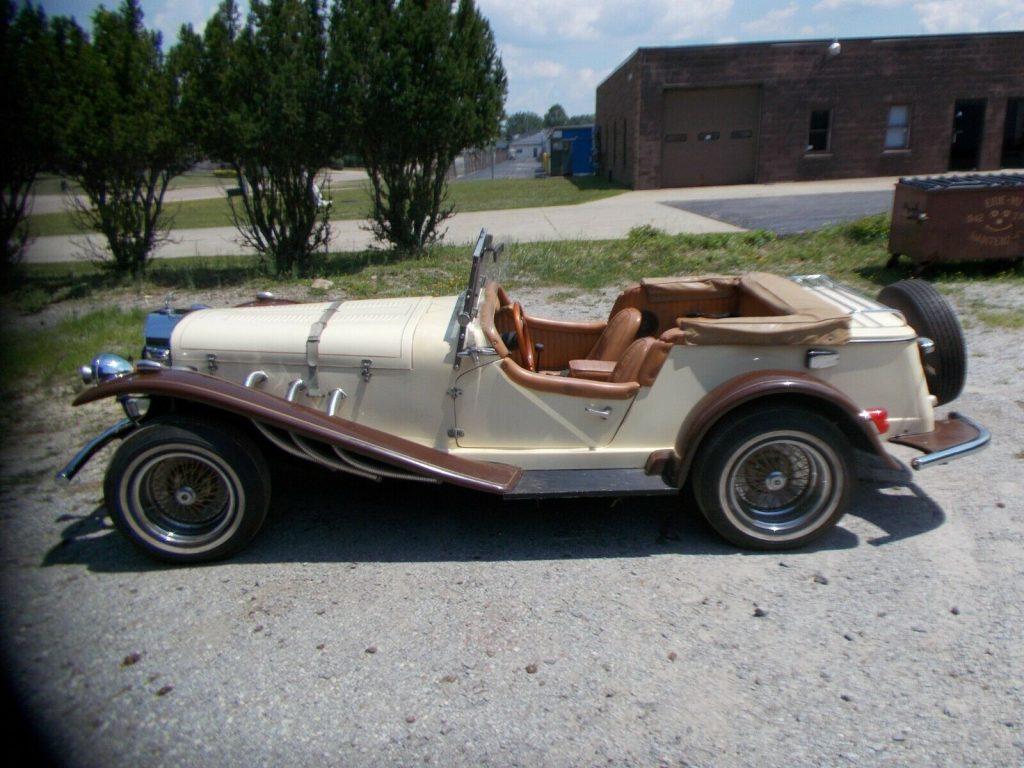 decent shape 1929 Mercedes replica