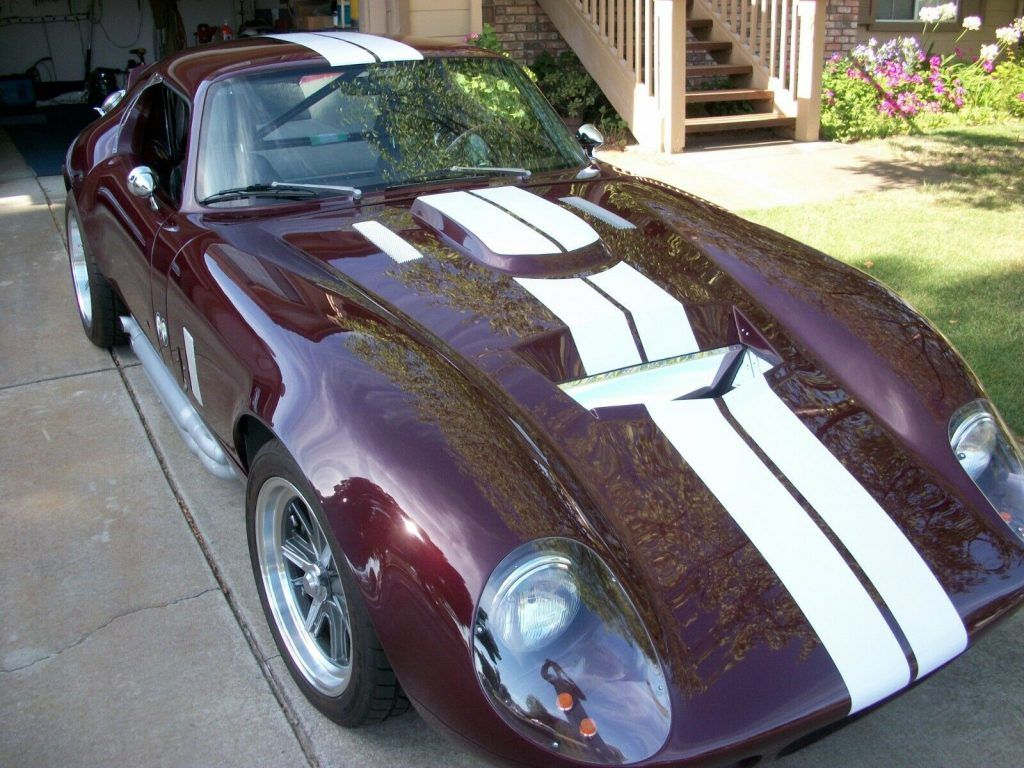 perfect 1965 Shelby Daytona Type 65 Coupe Replica