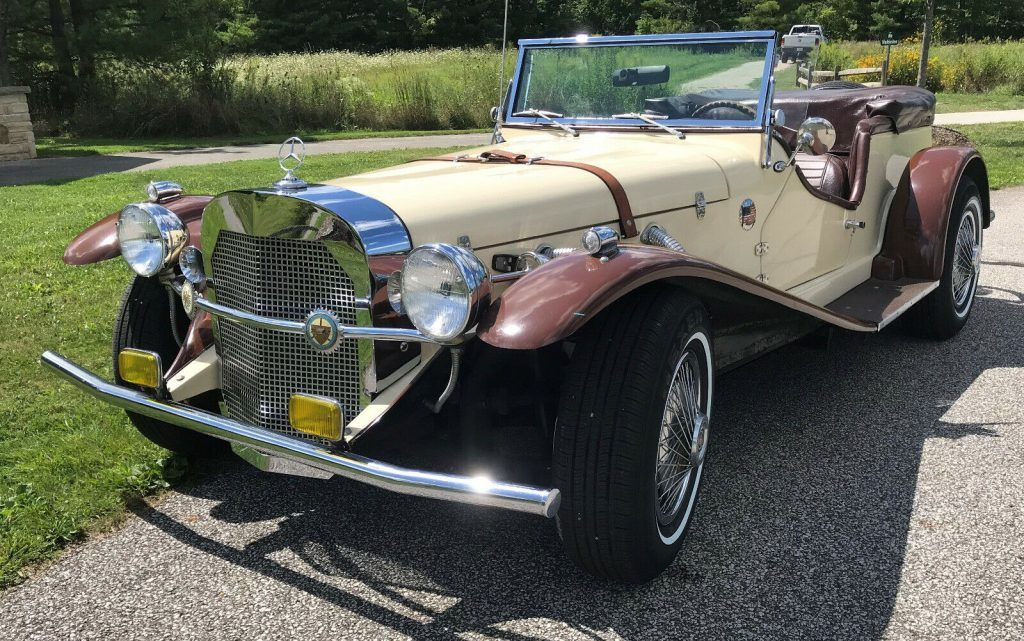 renewed 1929 Mercedes Benz SSK Gazelle Replica