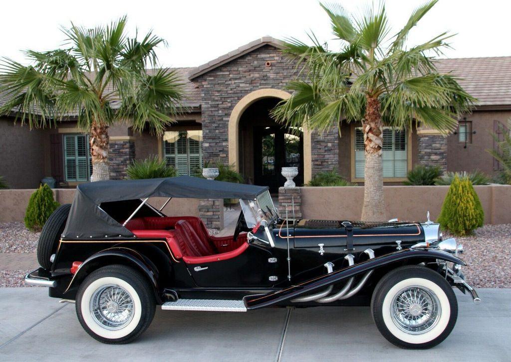 Chevy engine 1929 Mercedes-Benz SSK Gazelle Replica