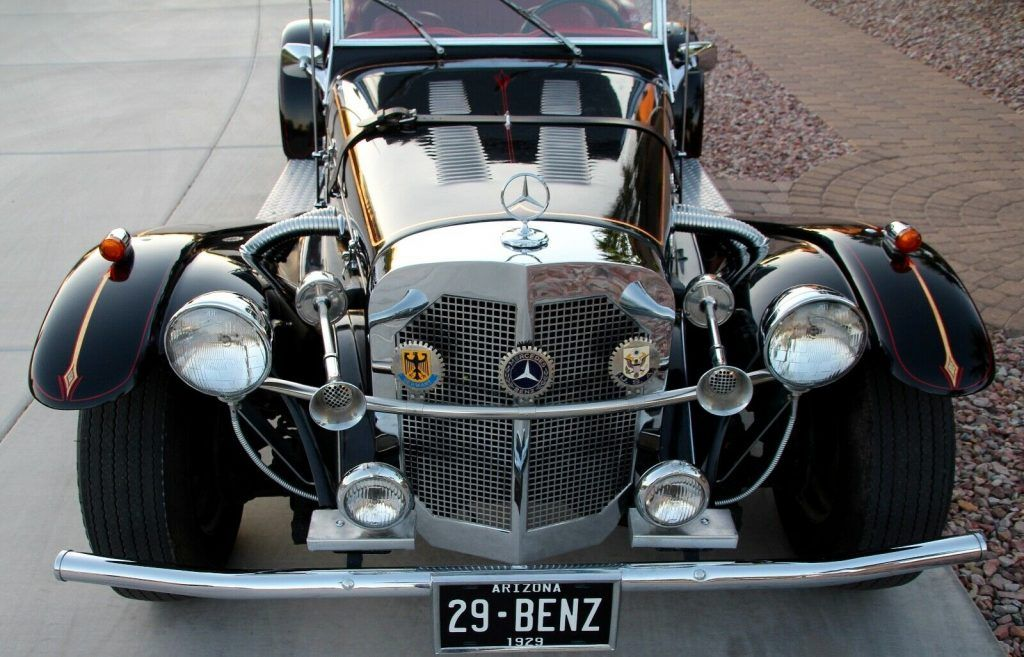 Chevette engine 1929 Mercedes-Benz SSK Replica