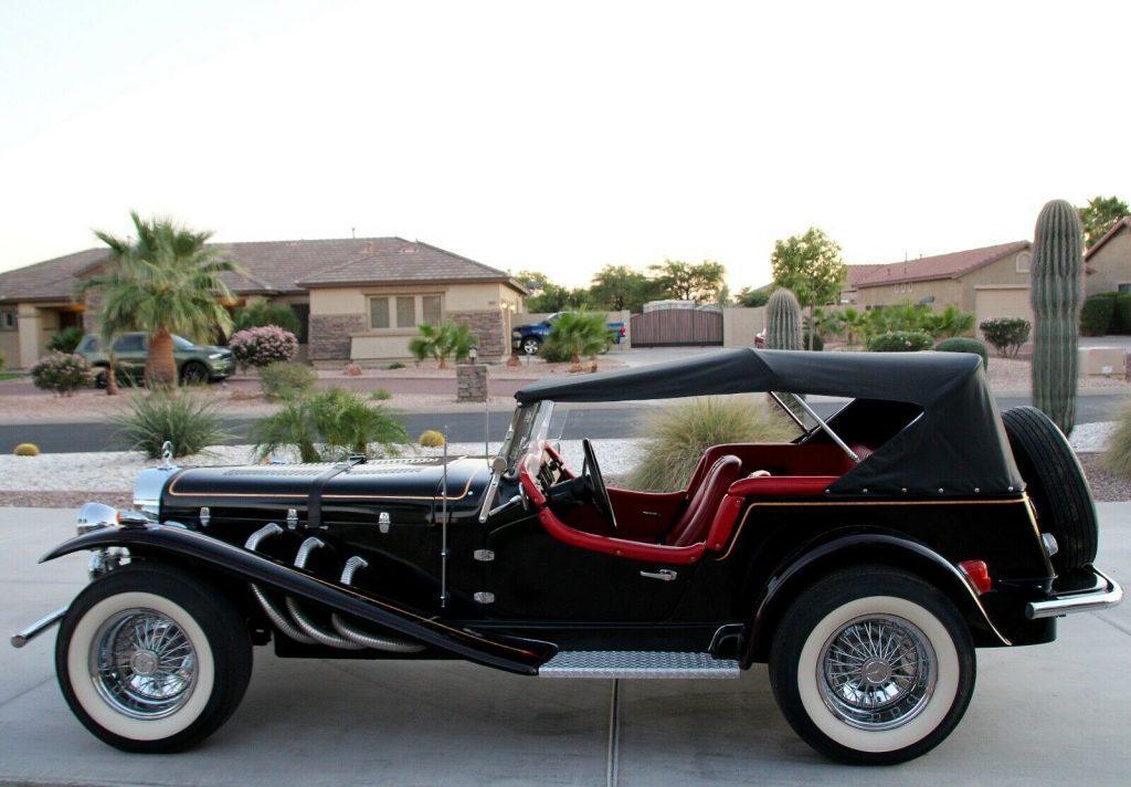 Chevrolet powered 1929 Mercedes-Benz SSK Gazelle Replica