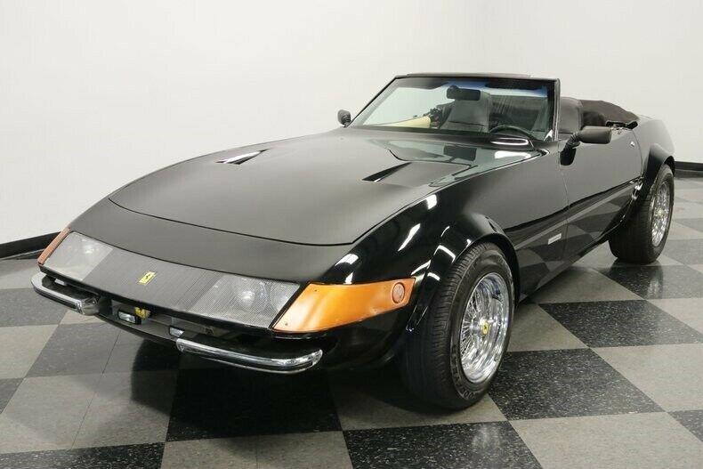 Corvette powered 1980 Ferrari Daytona Replica