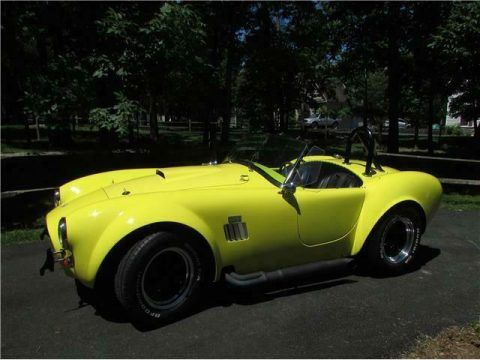 low miles 1965 Shelby Cobra Mark II replica for sale