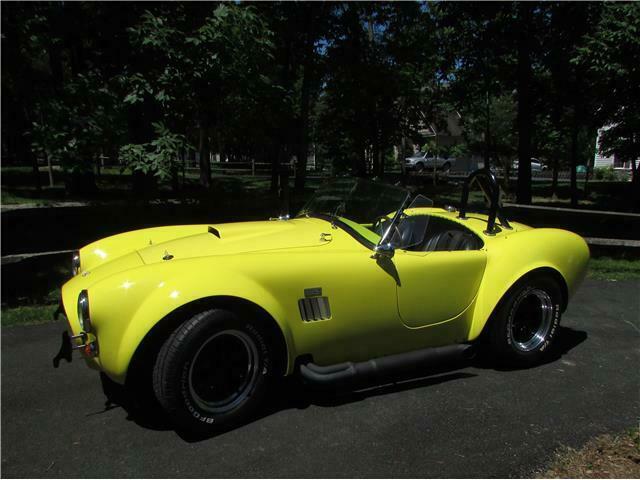 low miles 1965 Shelby Cobra Mark II replica