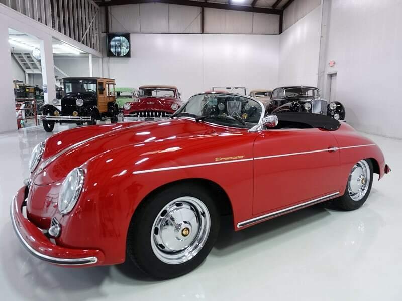 low miles 1957 Porsche 356 Speedster Replica