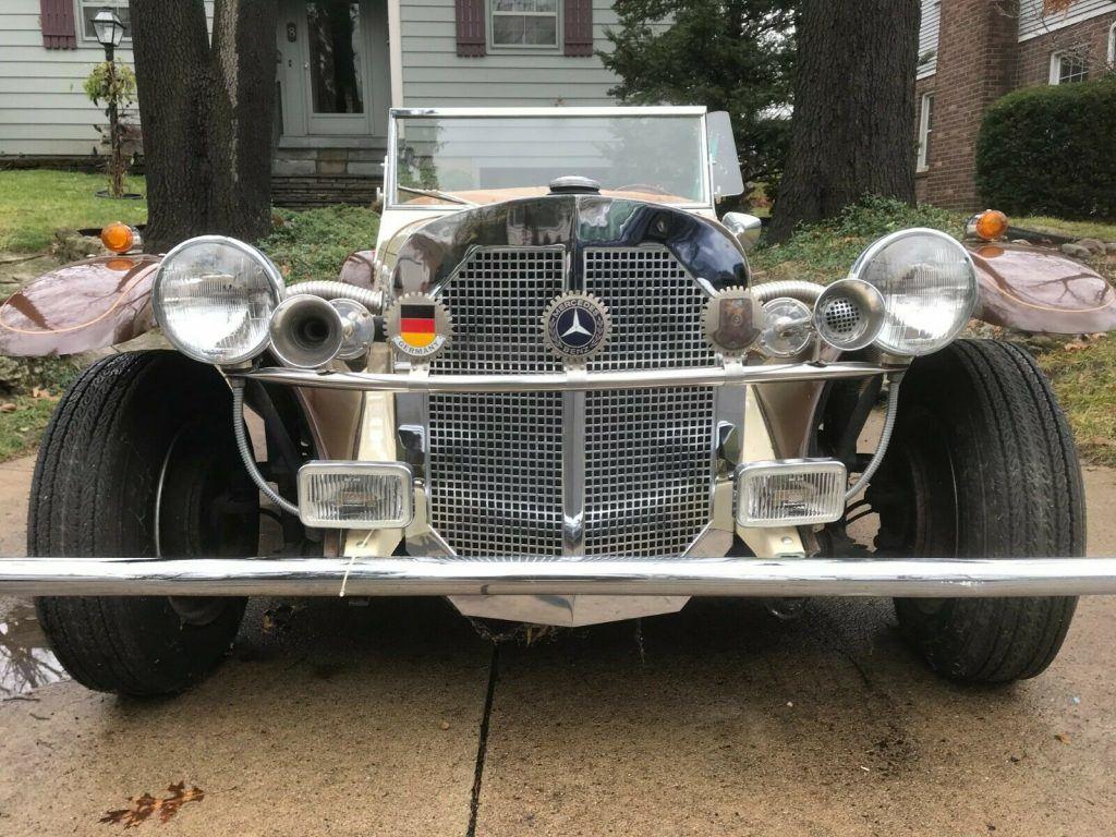 excellent shape 1929 Mercedes Benz Gazelle Replica