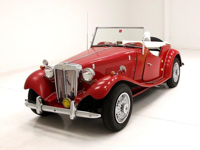 good shape 1953 MG TD Replica