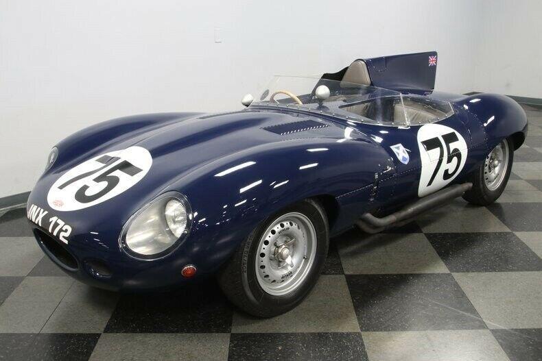 vintage 1960 Jaguar D Type Replica
