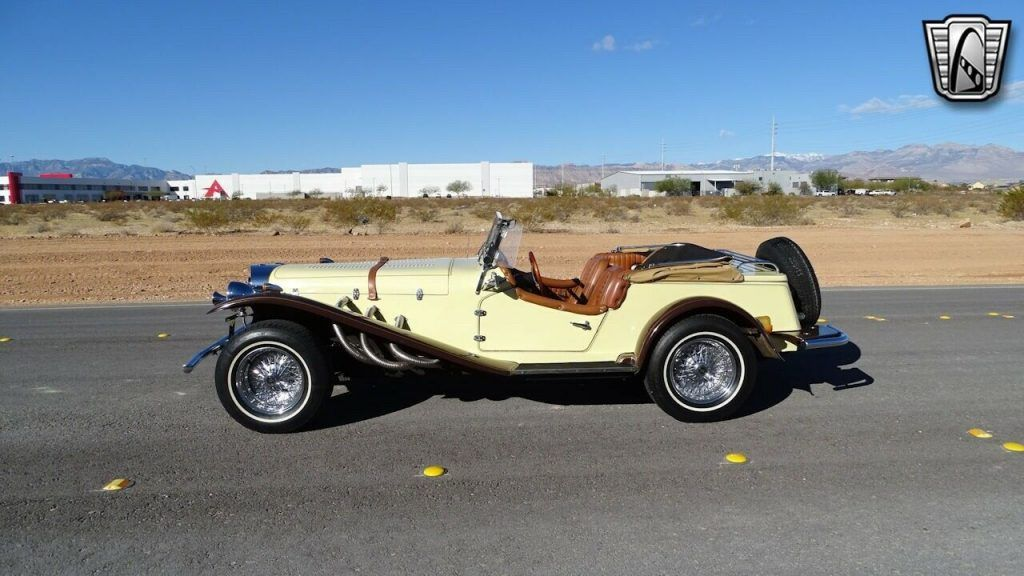 1929 Mercedes Benz Gazelle replica [Mercedes elegance and styling]