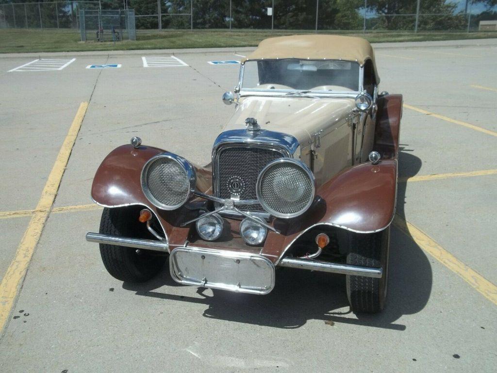 1937 Jaguar SS100 replica [Ford powered]