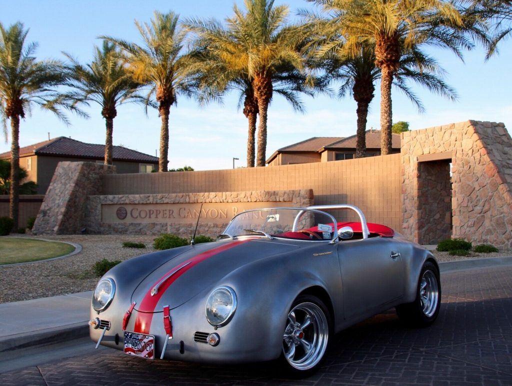 1957 Porsche 356 Speedster California Wide Body Replica [super customized]