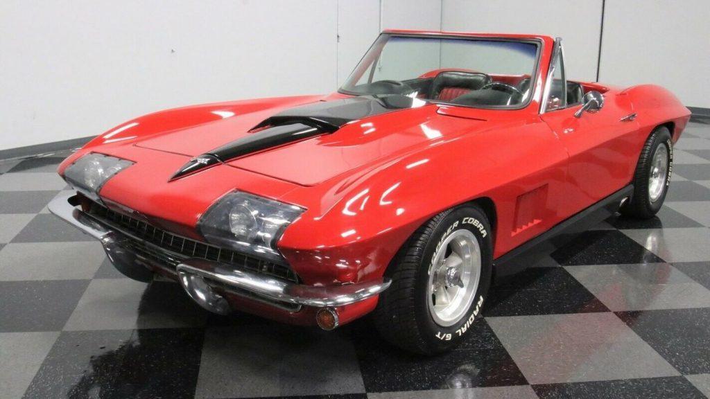 1966 Chevrolet Corvette Convertible Replica [iconic look with low miles]