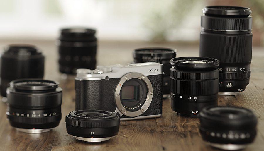 FUJIFILM X-M1 Lenses