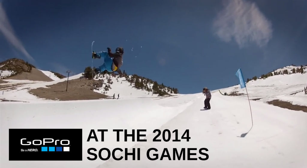 GoPro at the 2014 Winter Games