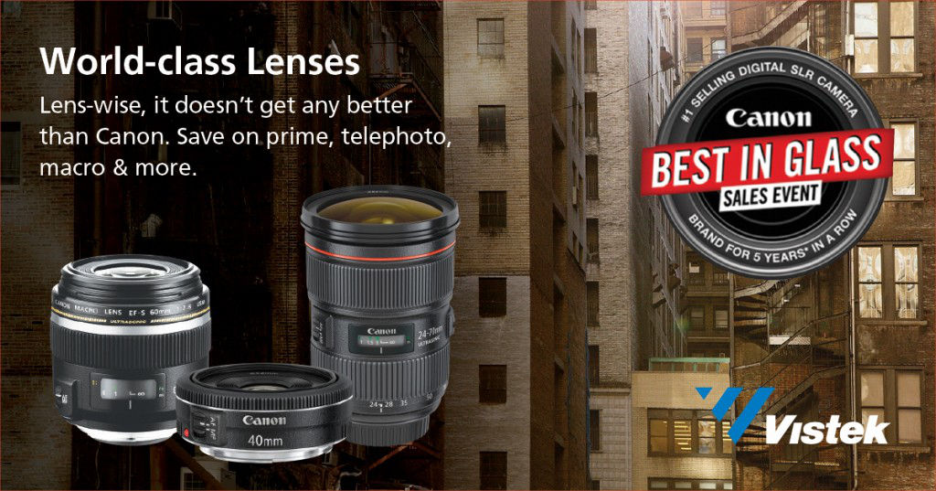 Canon Best in Glass Event