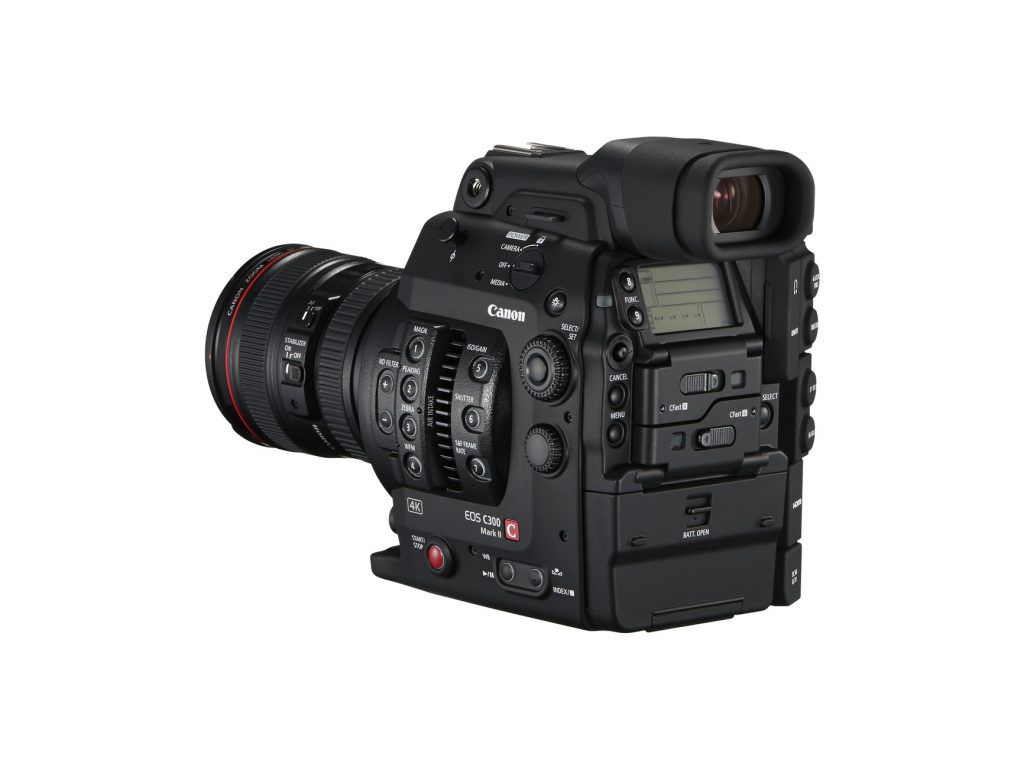 EOS C300 Mark II BSL 24-105 f4L Grip