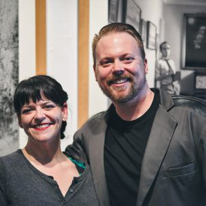 Beth and Blake at Contact Festival Launch