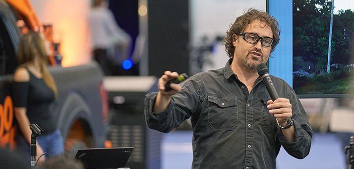 Greg Johnson presenting at ProFusion Expo 2015