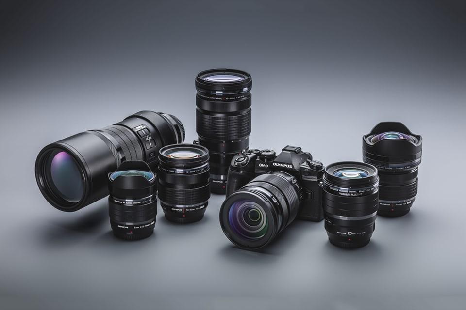 Olympus OM-D E-M1 MarkII Pro Lenses