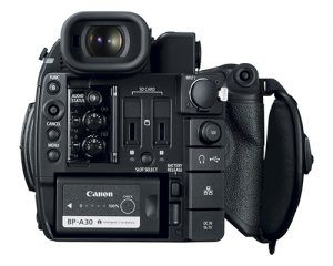 Canon C200 back panel
