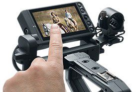 Optional Canon C200 Touch Focus Monitor